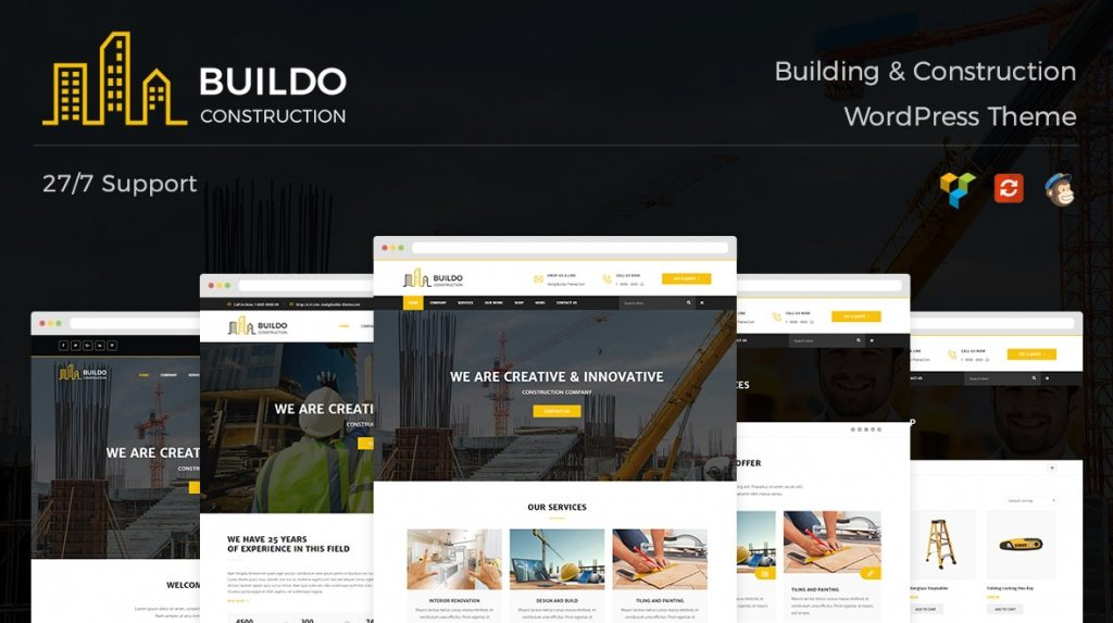 buildo wordpress theme