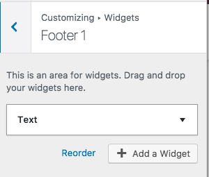 add a resources link to your footer personal website porftolio