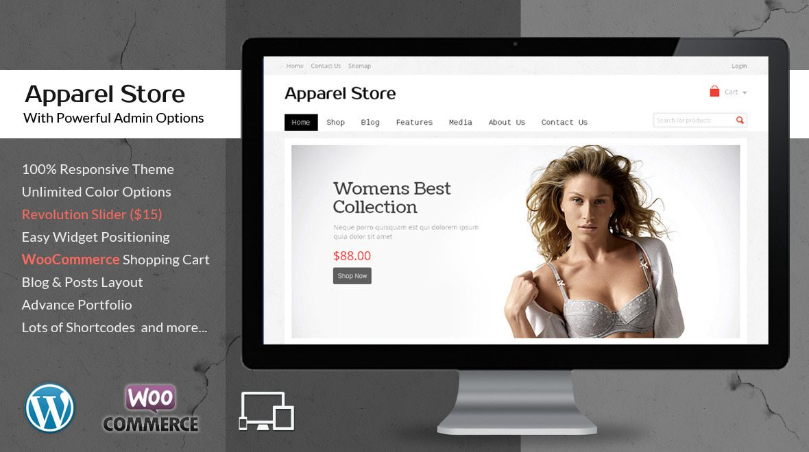 Apparel WordPress Theme