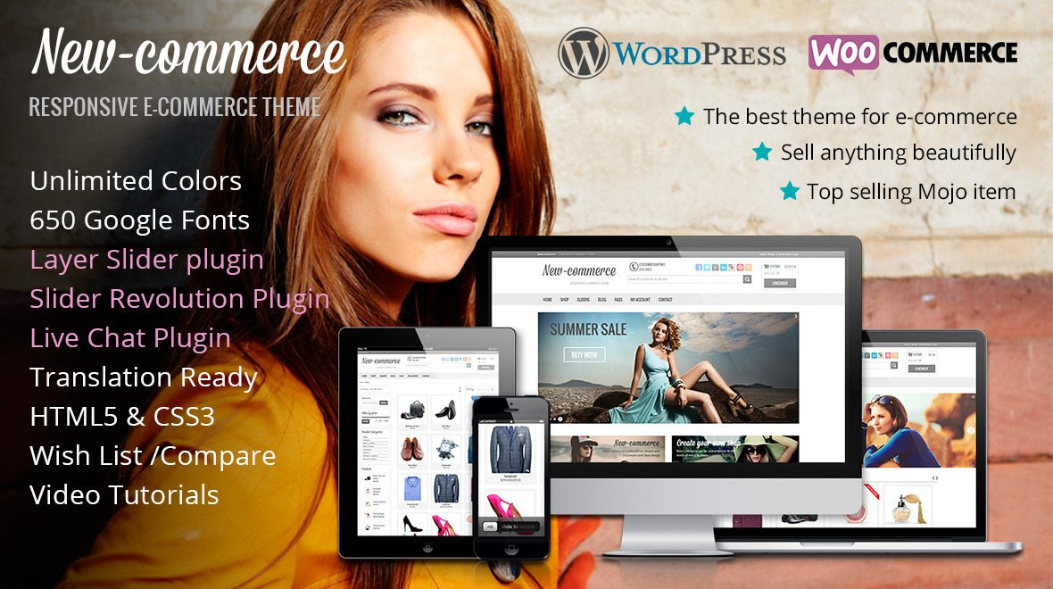 new-commerce WordPress Plugin