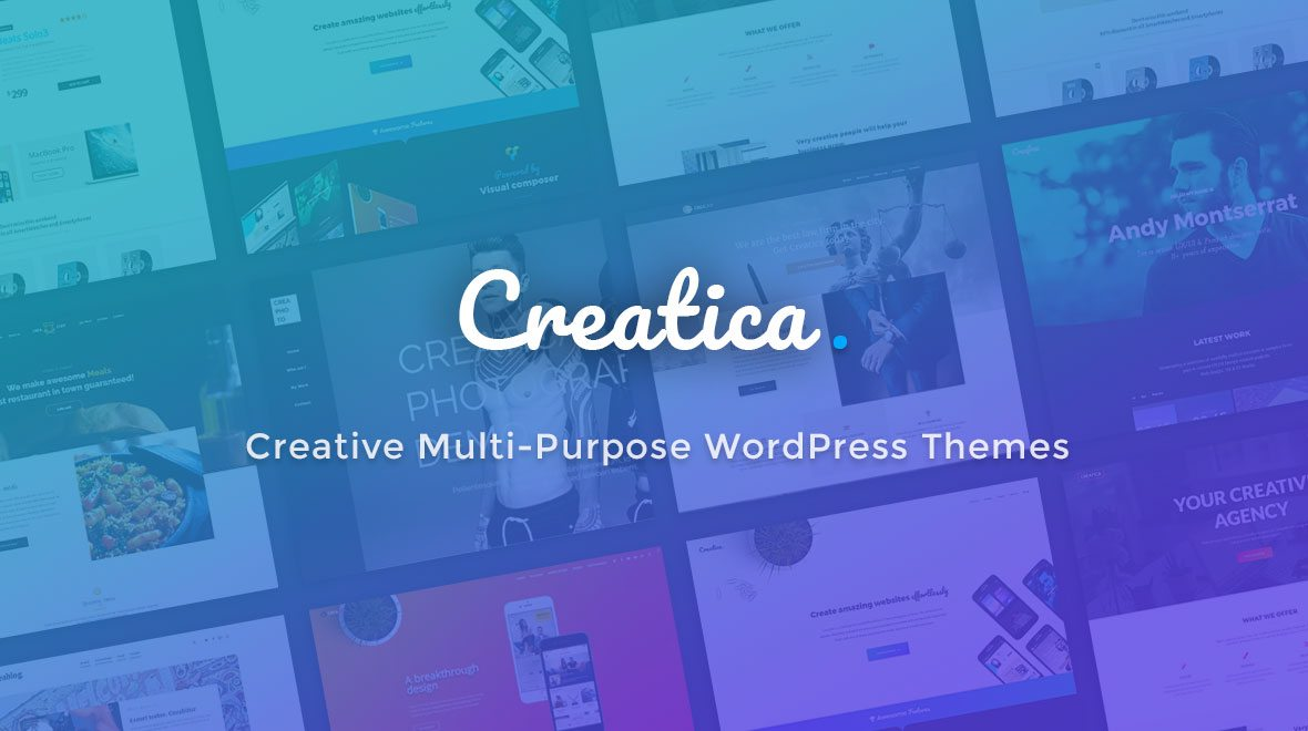 skywarrior themes mutlipurpose WordPress theme Creatica
