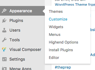 Customize Your Navigation Menu from the WordPress Dashboard