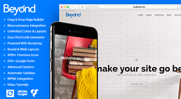 beyond beginner business wordpress theme