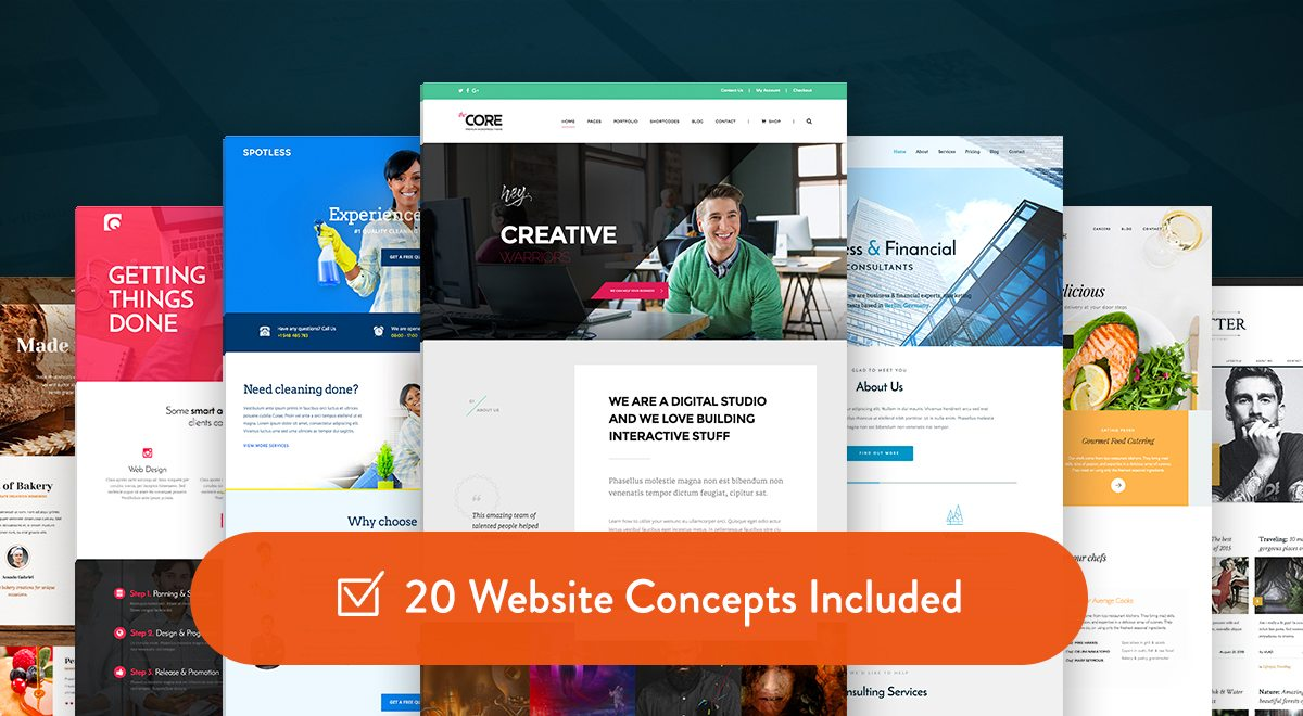 The Core - Multipurpose WordPress Theme