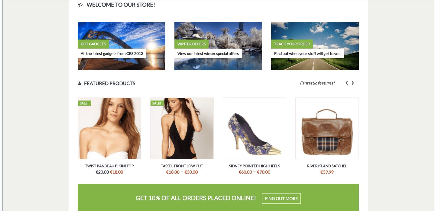 Kaching e-commerce WordPress theme - MOJO Marketplace