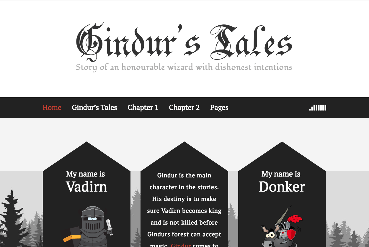 Premium Coding Gindur Medieval WordPress Blog Theme - MOJO Marketplace