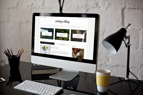 Everly Blog Theme - MOJO Marketplace