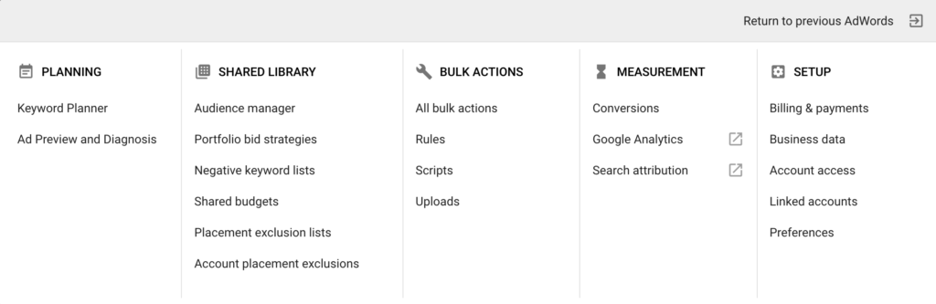 AdWords Measure Converions